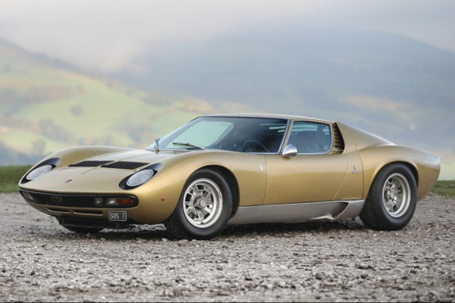 Lamborghini Miura P400 SV Speciale at Gooding's London Auction