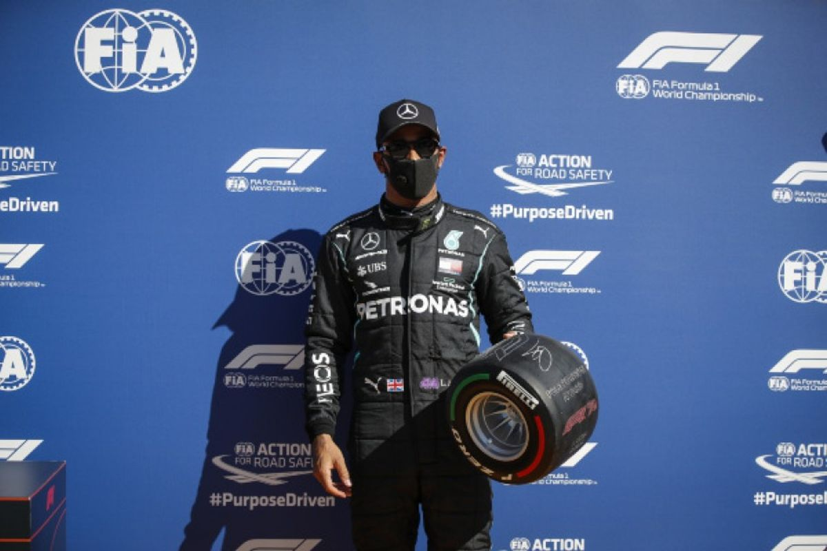 Hamilton on top of Italian Grand Prix Qualifying
