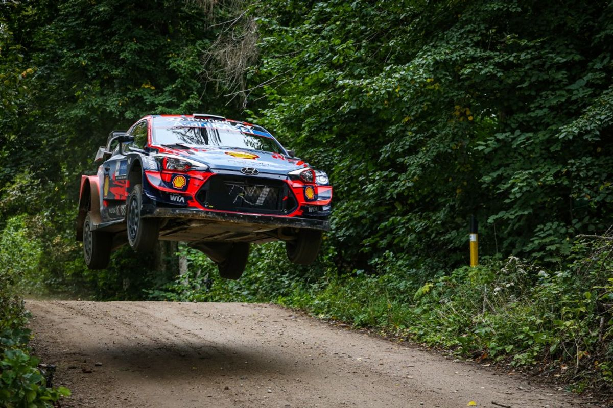 Tanak unstoppable on Rally Estonia home soil