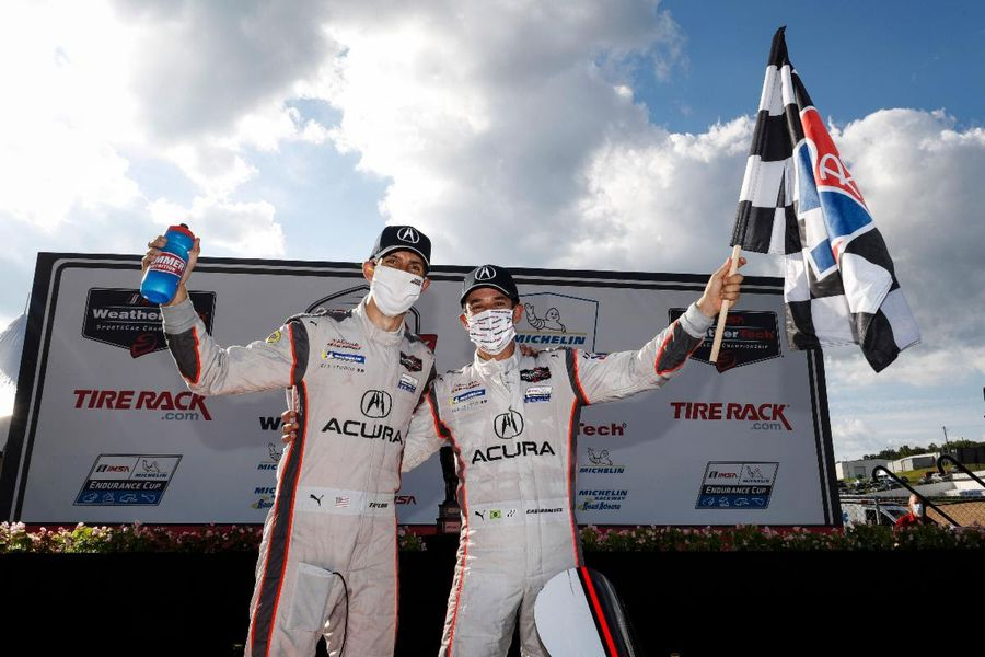 Castroneves and Taylor Win  Road Atlanta TireRack GP