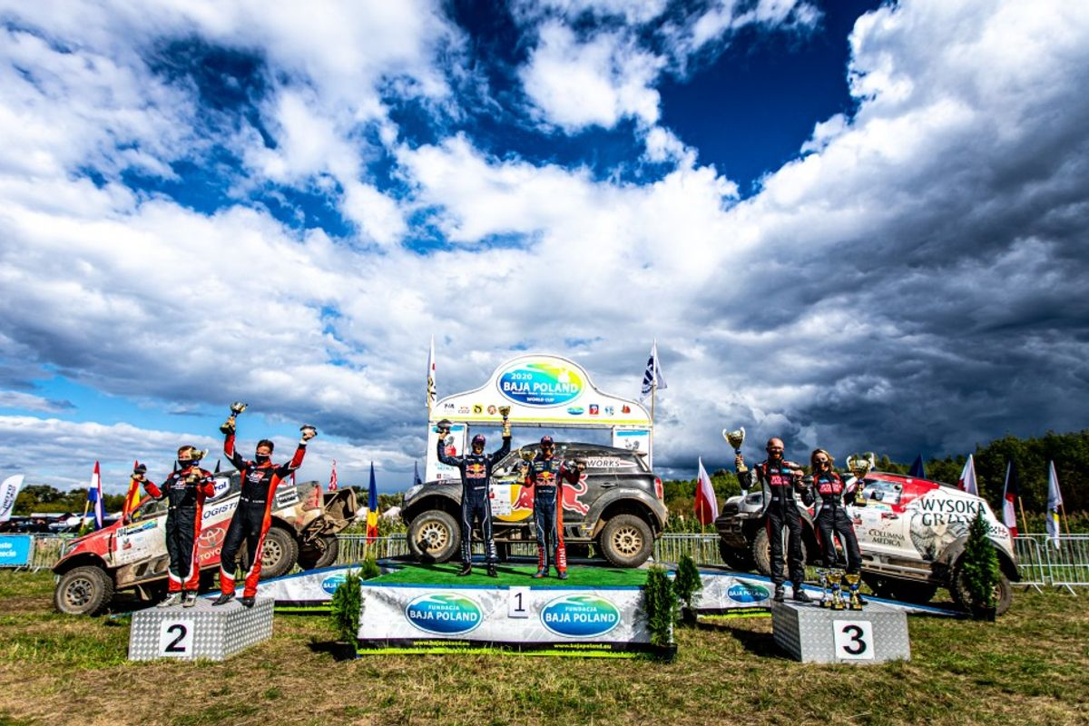 Peterhansel and Boulanger claim Baja Poland honours