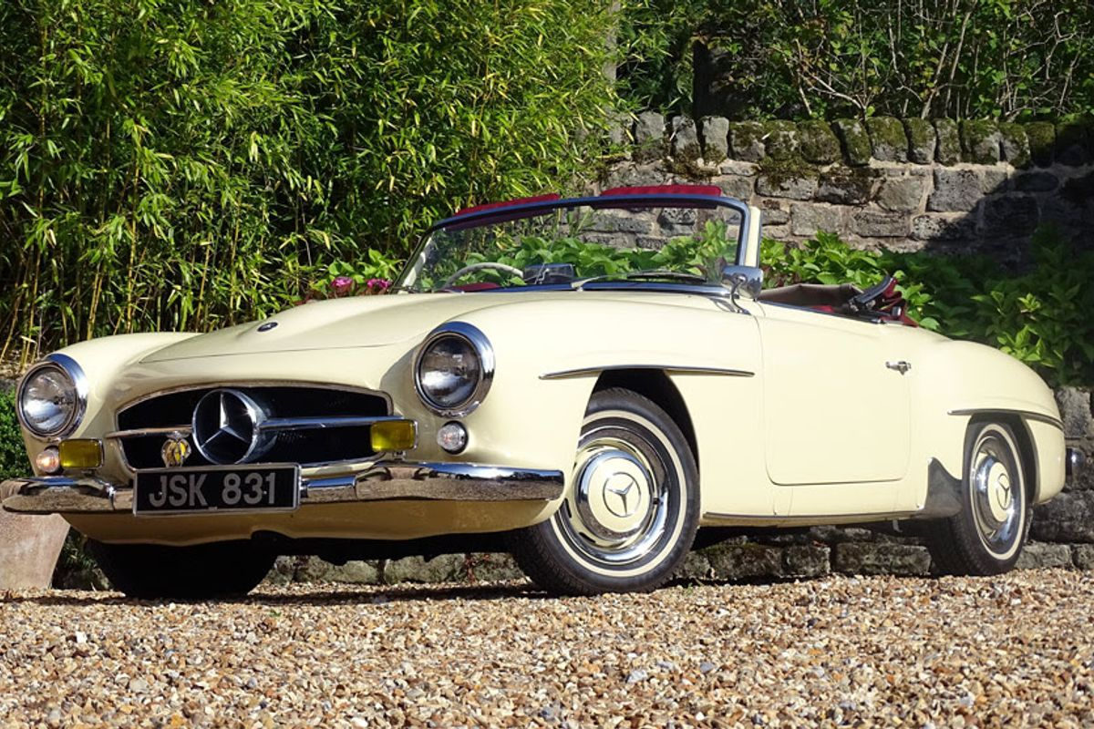 1960 Mercedes-Benz 190 SL joins H&H Classic & Collector Car Auction
