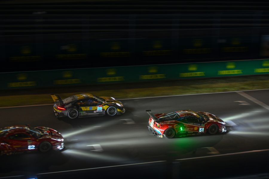 Le Mans 24hr :  Midpoint review, dreaded for several hours, the rain never arrived