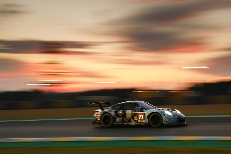Porsche customer  Dempsey-Proton Racing heads for  Le Mans podium