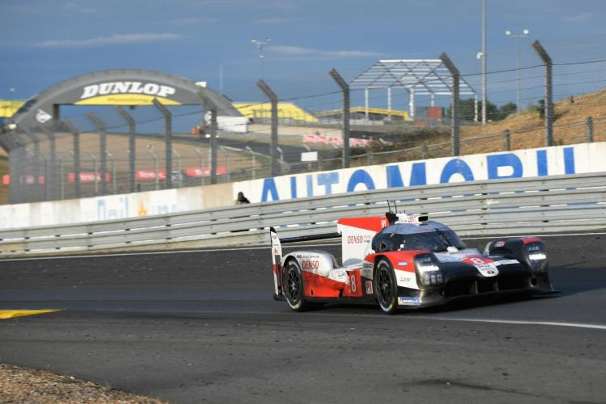 4 hours left to race, Toyota continues to lead 24 Hours of Le Mans
