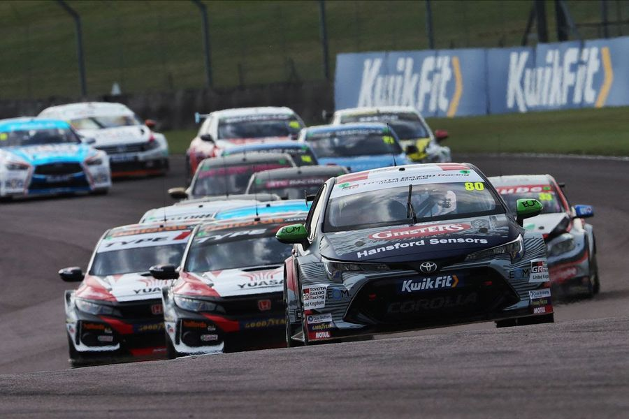 Tom Ingram and Josh Cook share BTCC spoils at Thruxton