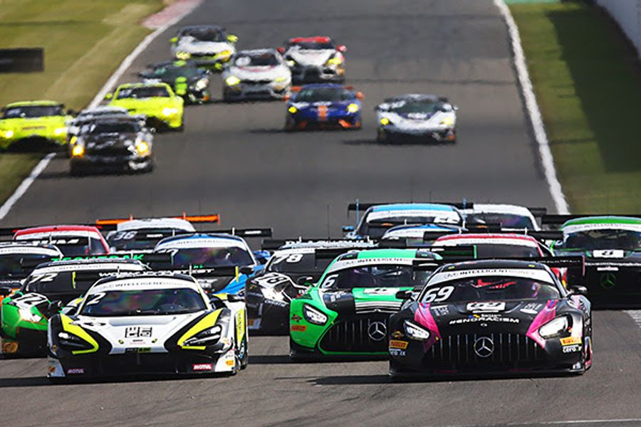 De Haan and Kujala spin and win at Donington British GT