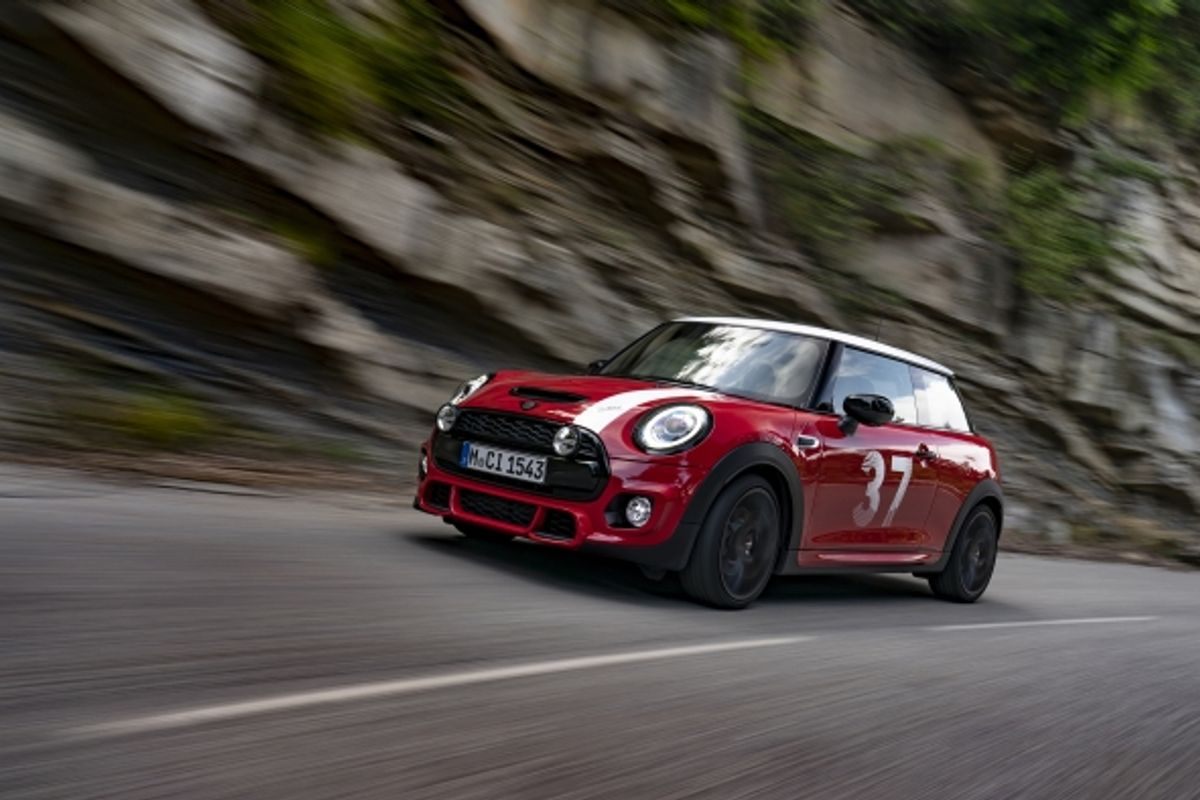 Mini launches special MINI Paddy Hopkirk Edition