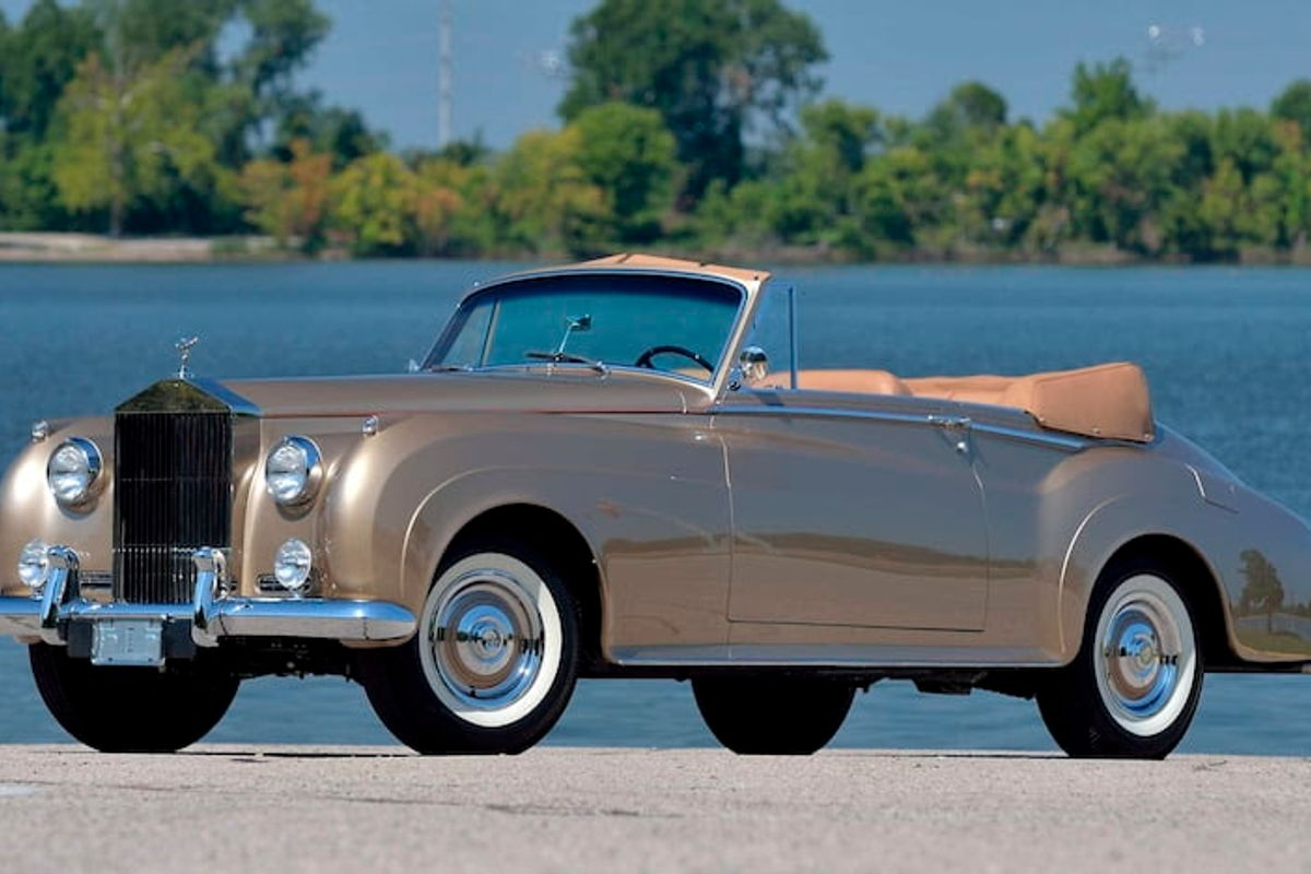 Rare Concours-Restored Rolls-Royce Silver Cloud I at Mecum Dallas auction