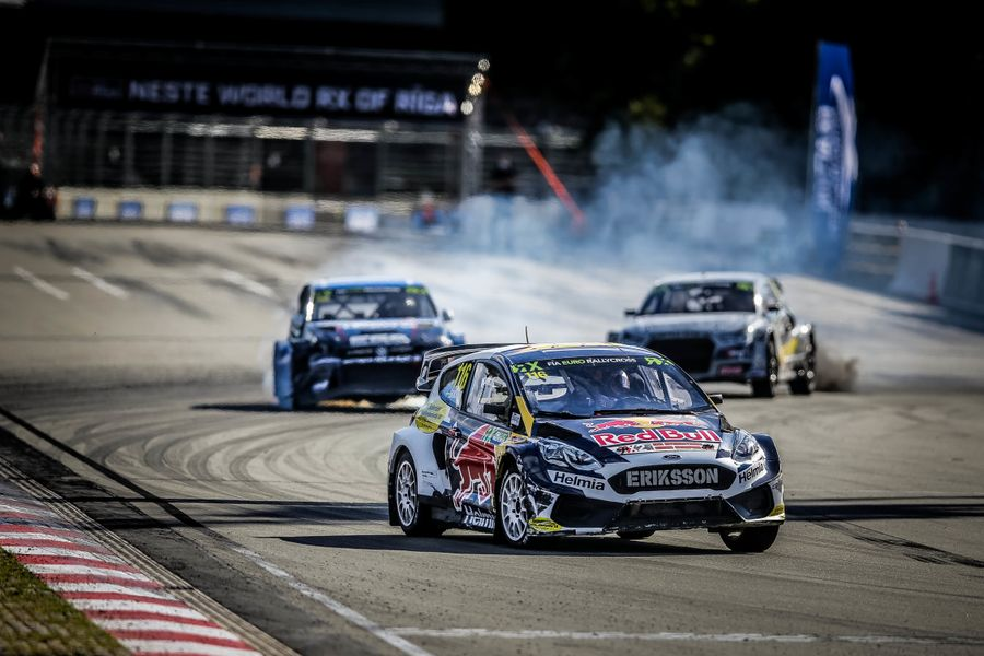 Eriksson extend Euro RX championship lead with victory in Latvia