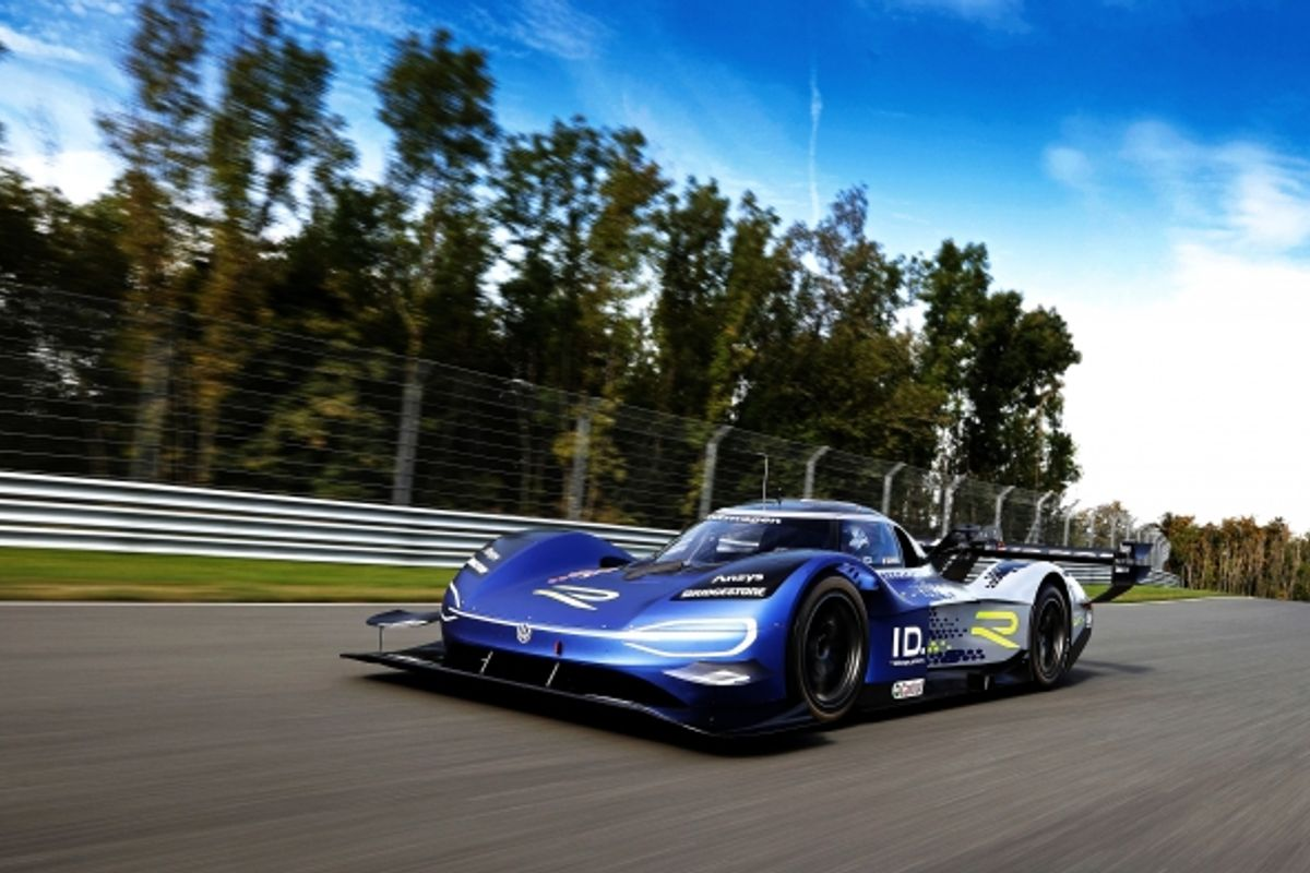 New look for the Volkswagen ID.R