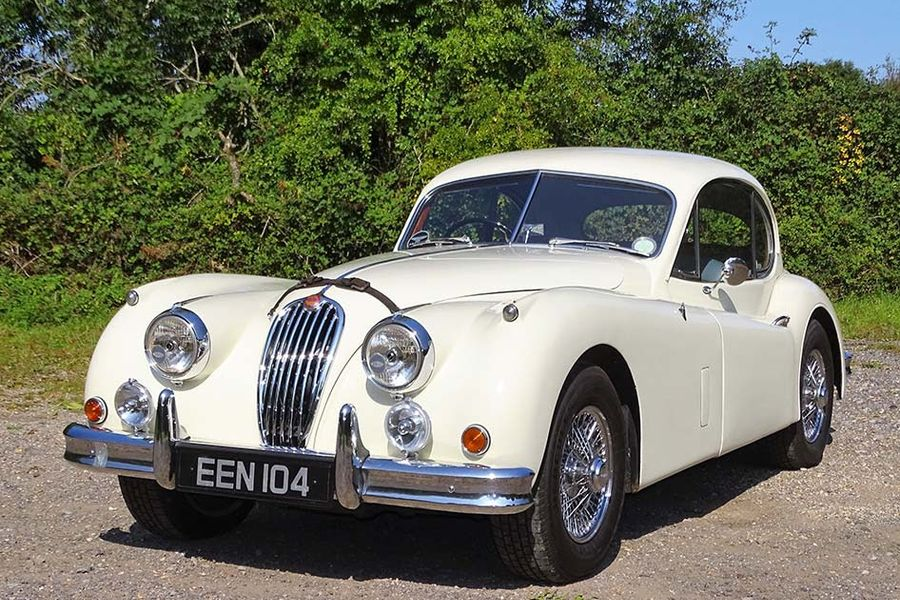 1955 Jaguar XK140 Fixed Head Coupe at H&H Duxford auction