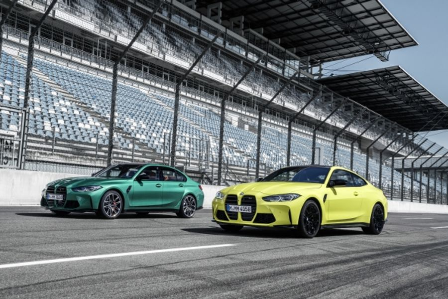 Latest BMW M3 Competition Saloon and new BMW M4 Competition Coupé
