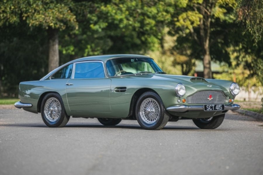 Aston Martin DB4 Series II Coupe at Silverstone's final 2020 sale
