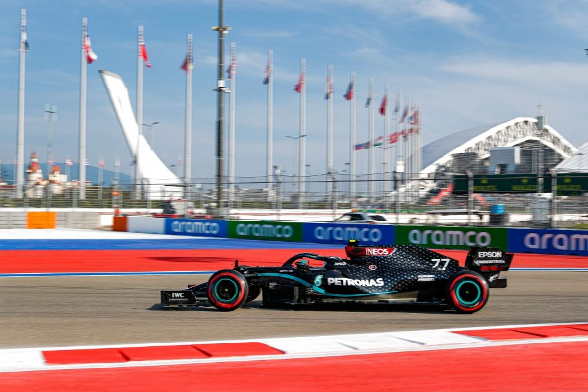 Bottas sets the pace in Russian GP practice