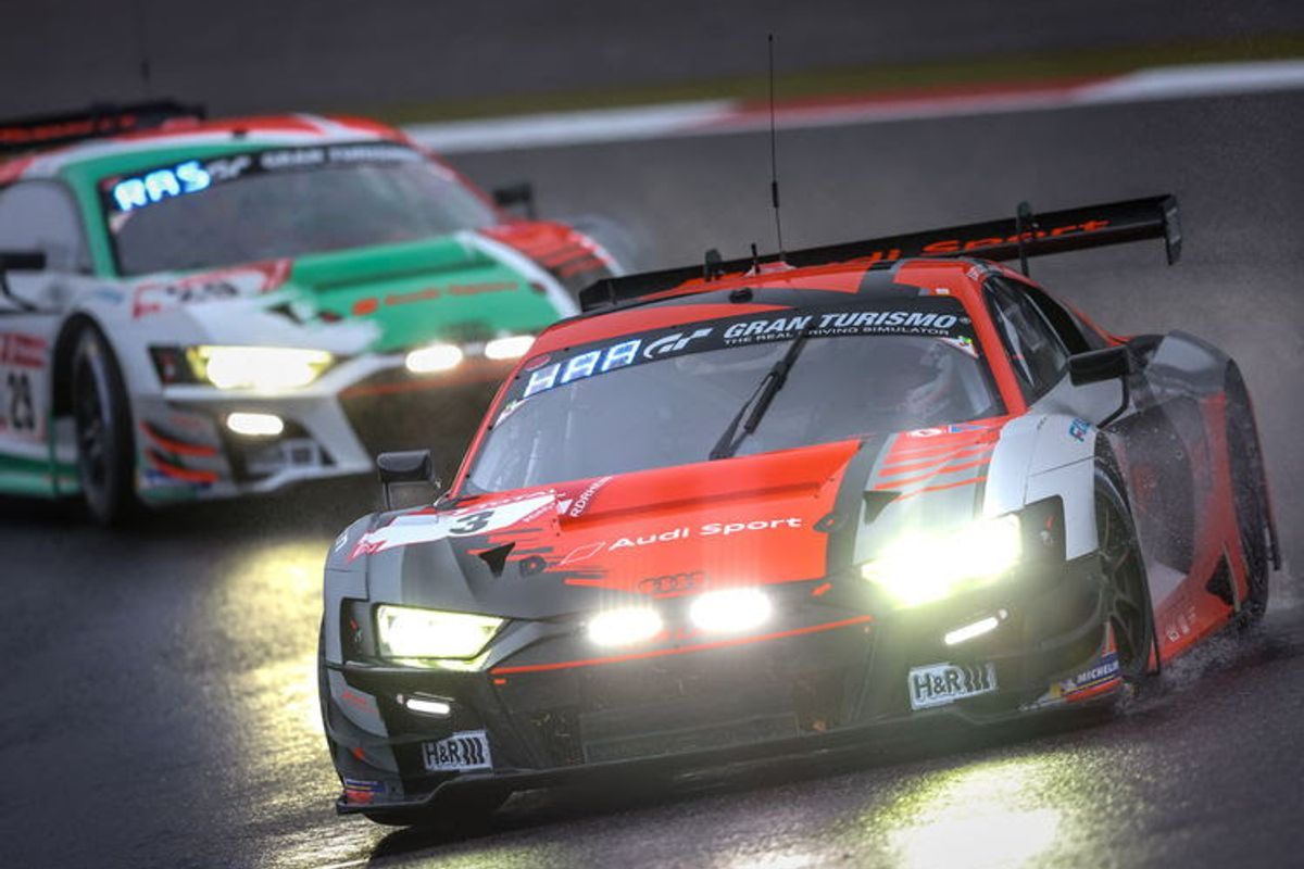 Second place for Audi Sport customer racing at Nürburgring 24hr