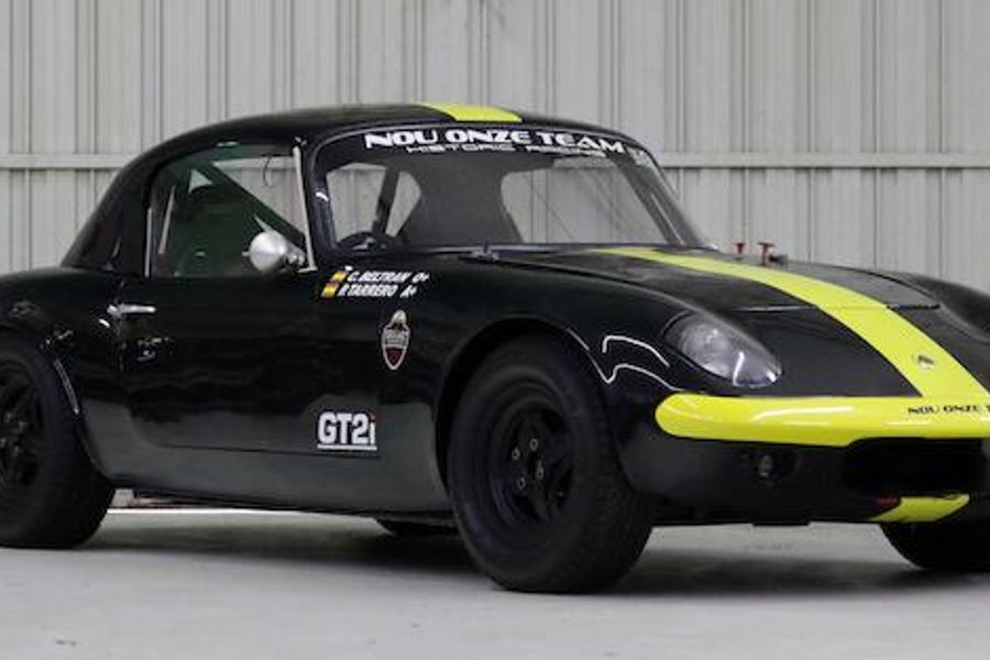 1964 Lotus Elan Hardtop Coupe to 26R FIA Spec at Bonhams' Goodwood auction