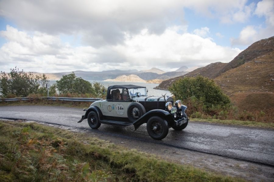 Chrysler 75 Roadster takes victory in bespoke Highland 1000 classic rally