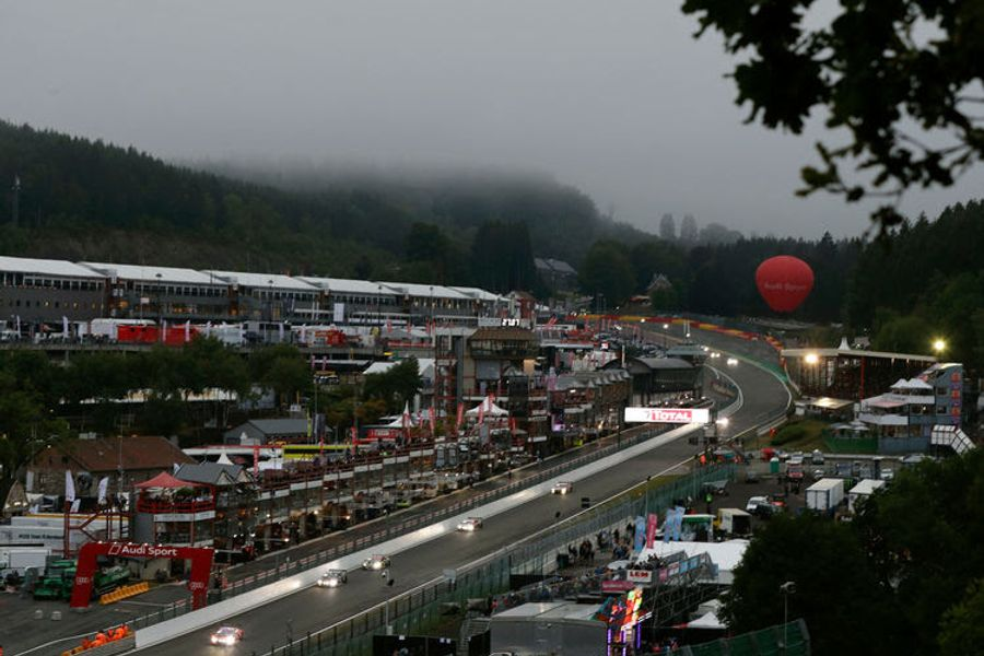8 Audi R8 LMS fight for victory, points & titles at Spa 24 Hours