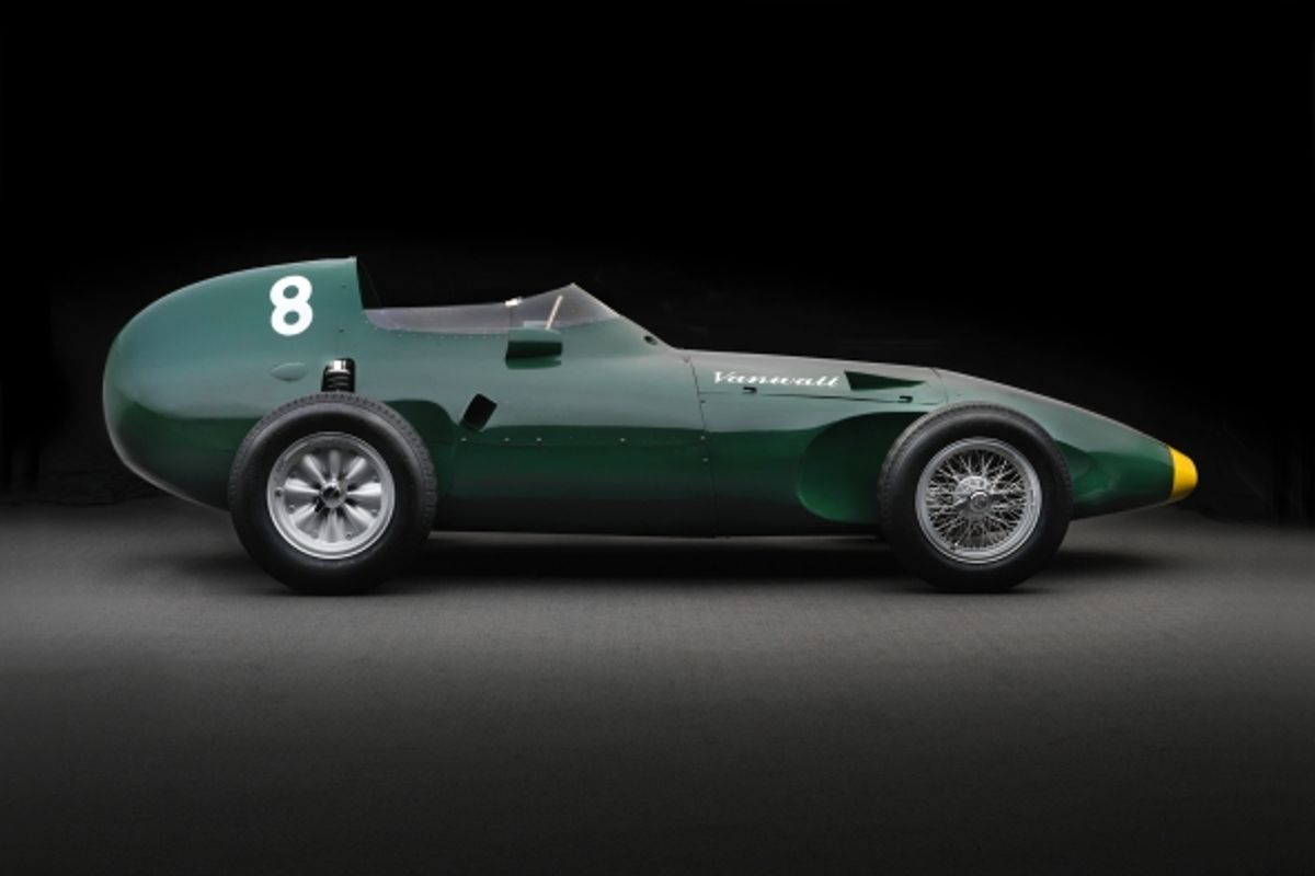 6 1958 Vanwall F1 tribute cars to be built in partnership with Hall & Hall