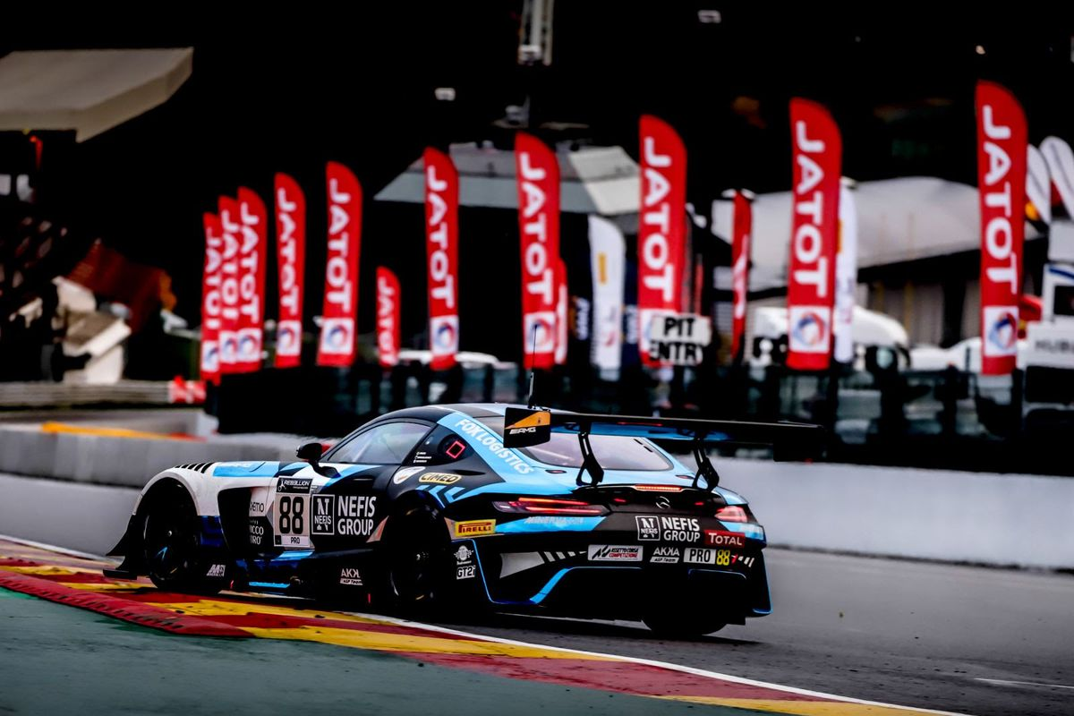Marciello secures 24 Hours of Spa pole for Mercedes-AMG Team AKKA ASP