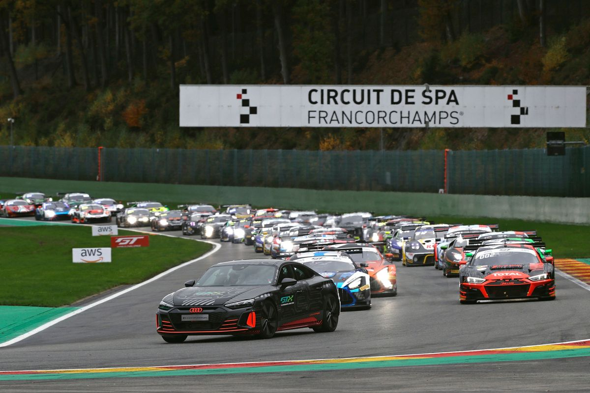 Runner-up's spot for Audi in Spa 24 Hours