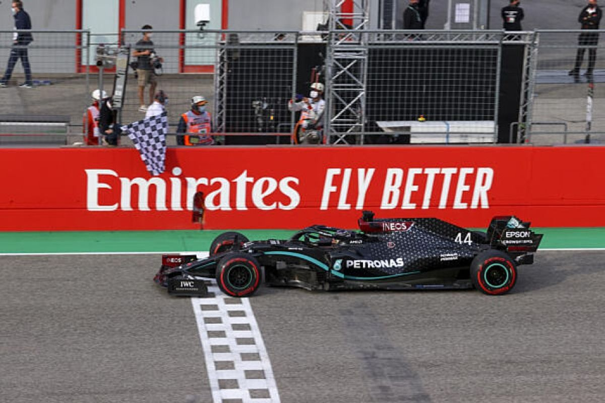 Mercedes seals 7th consecutive F1 title as Hamilton wins in Imola