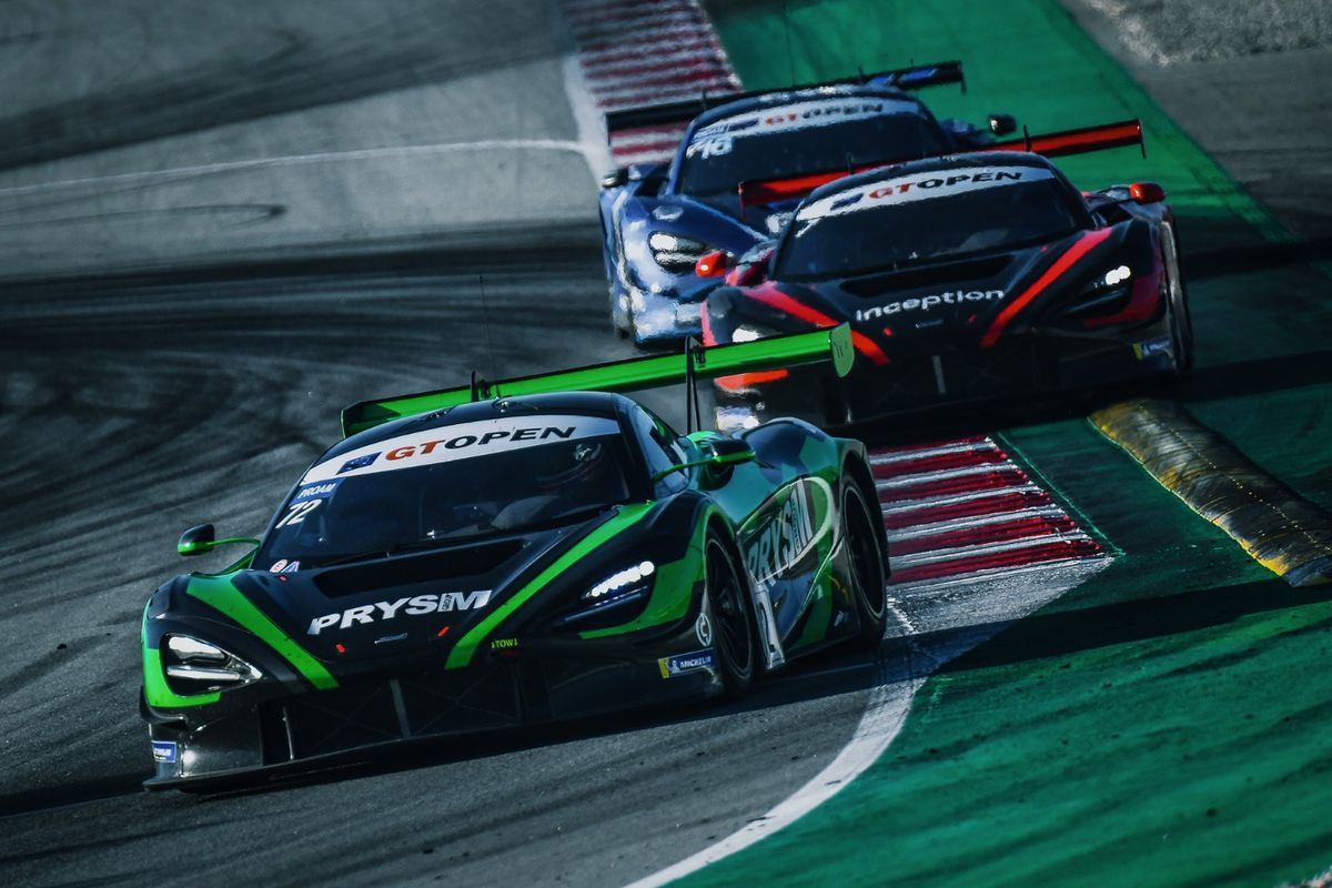Optimum end successful GT Open season with victory in Barcelona