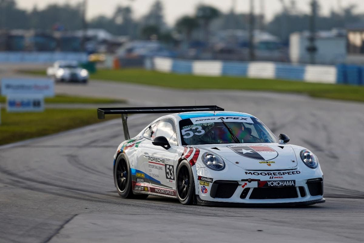 Moorespeed, Dickinson secure second place in Porsche GT3  Platinum Cup