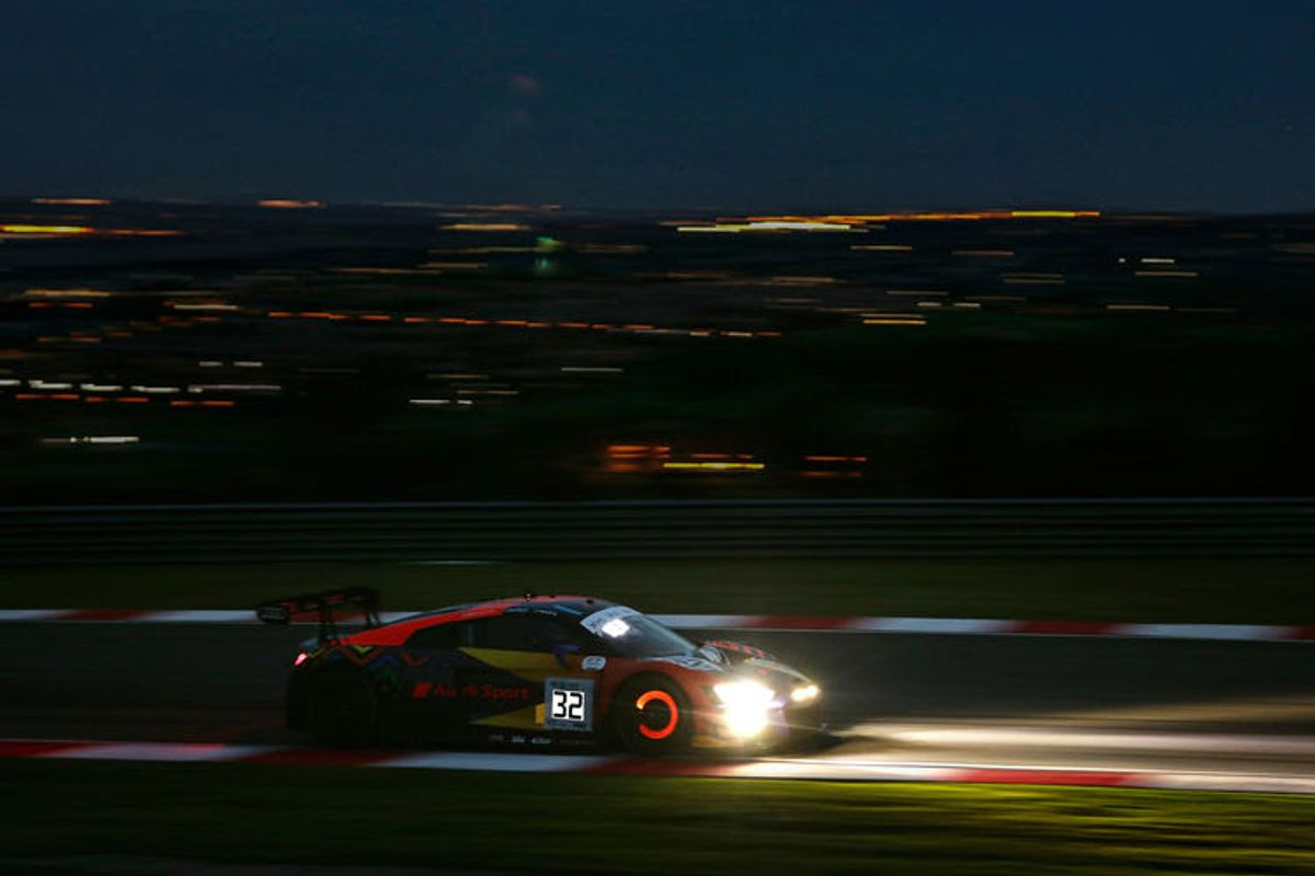 Audi Sport Team WRT second in Kyalami 9 Hour race with Audi R8 LMS