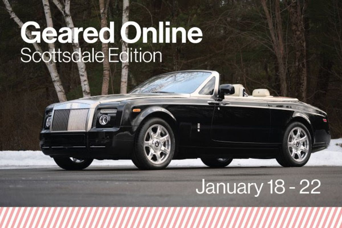 Rolls-Royce Phantom Drophead Coupe at Gooding's Geared Online