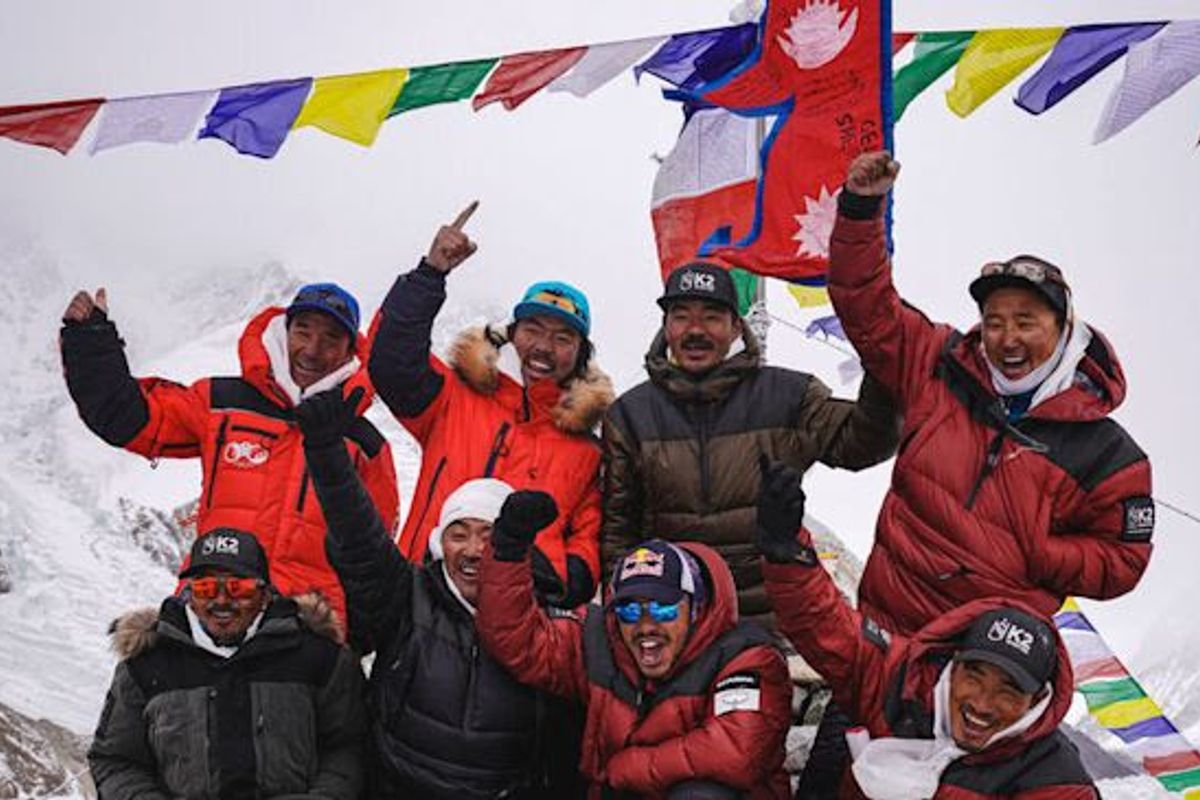 Nirmal Purja completes world-first summit of K2 in winter