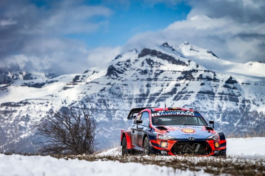 WRC gets underway with Rallye Monte-Carlo