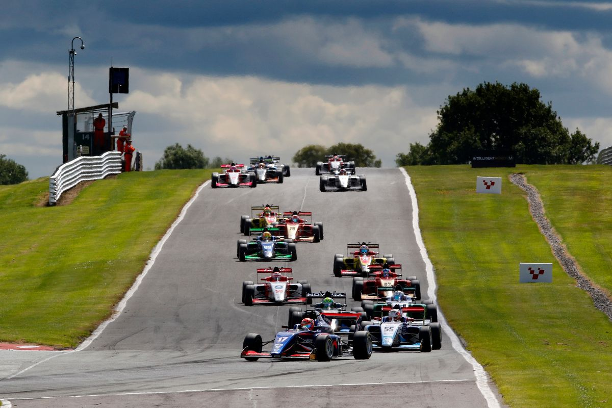 Revised 2021 calendar for BRDC British F3