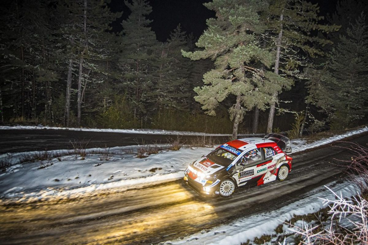 Ogier wins all three Friday morning speed tests at Rallye Monte-Carlo