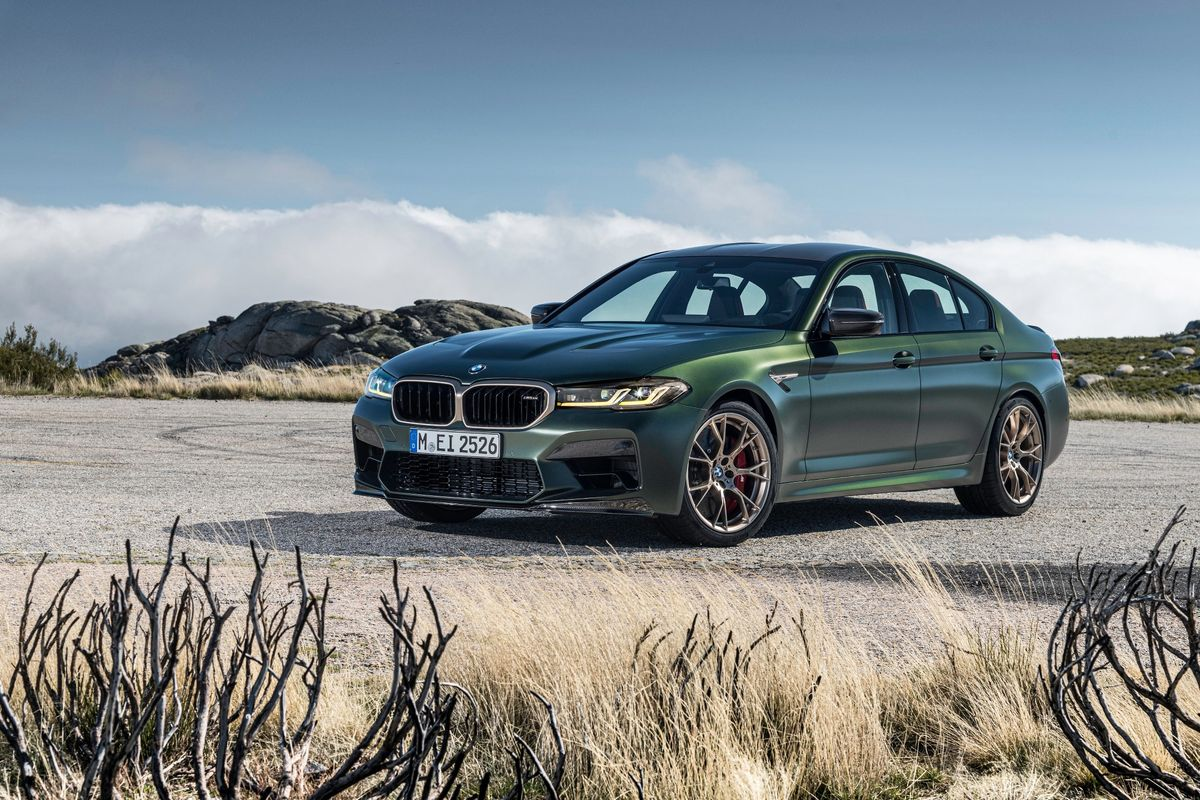 The most powerful BMW M car ever: The new BMW M5 CS