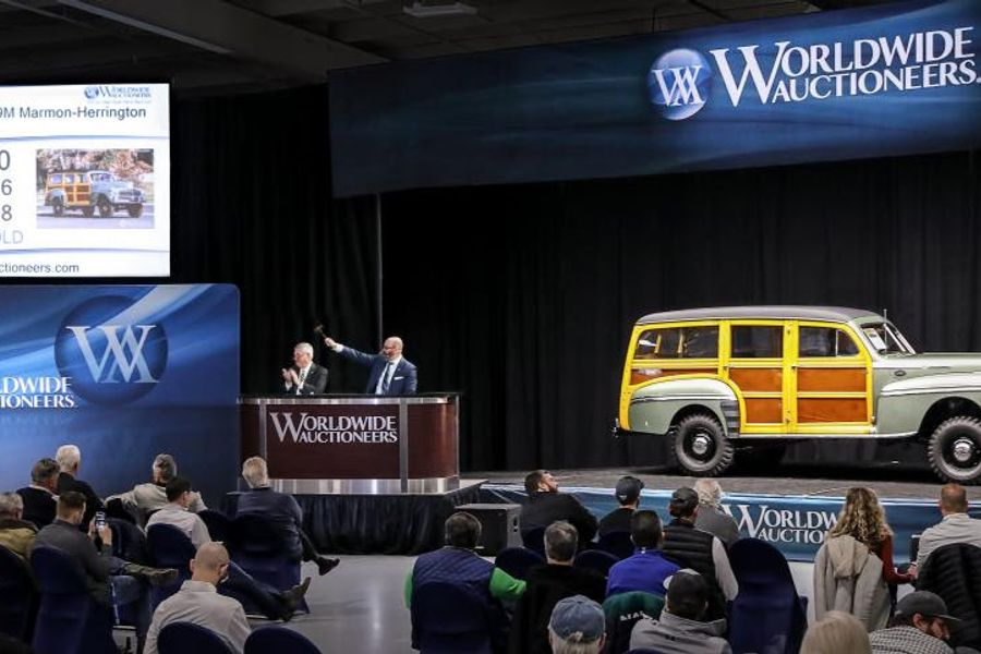 Worldwide Auctioneers auction sets world records & 93% sale rate, results