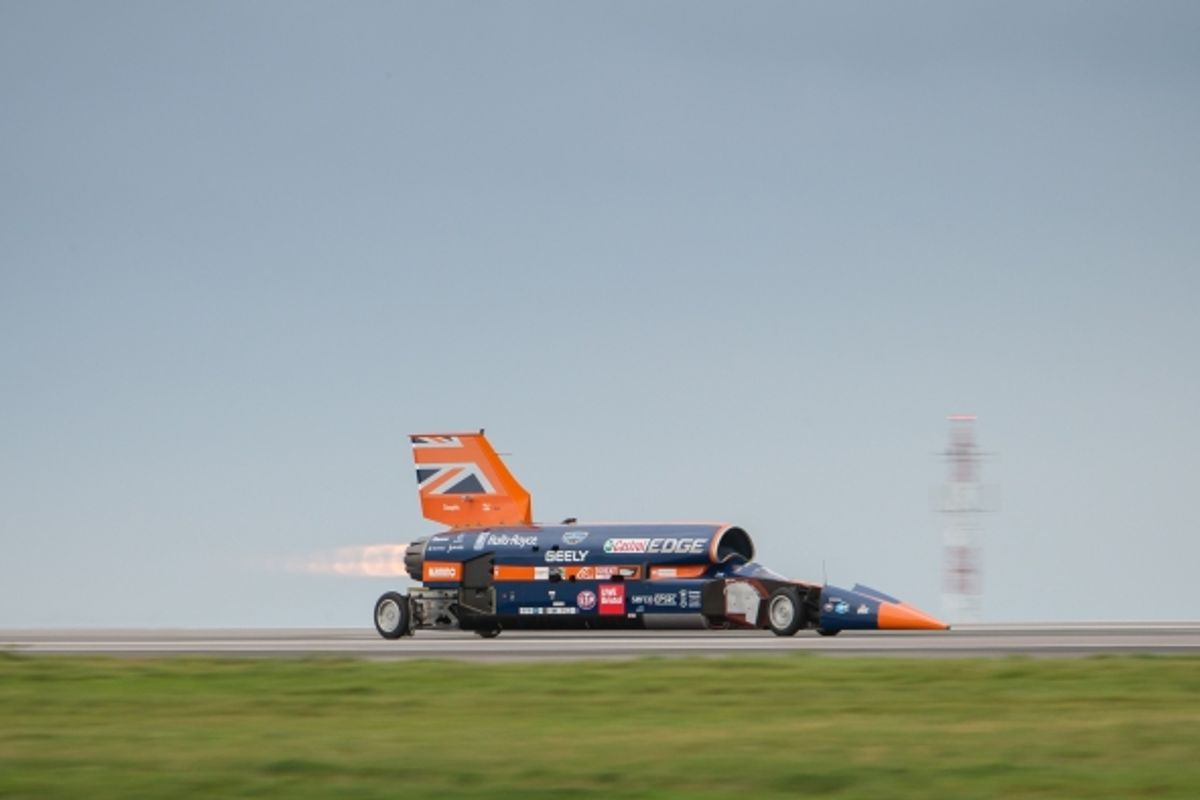 Bloodhound Project up for sale