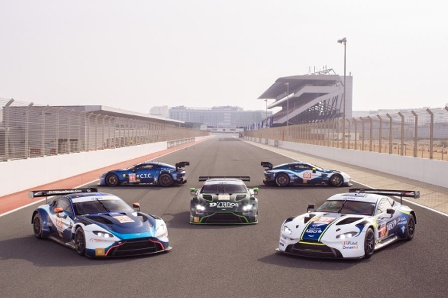 Five Aston Martin Vantage GT3s to fight for Asian Le Mans Series GT title