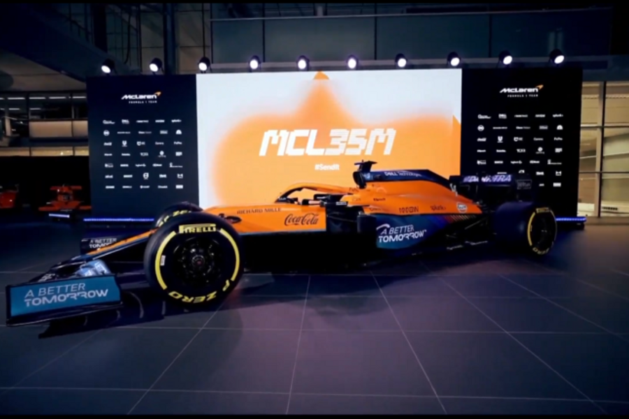 McLaren introduces the MCL35M and 2021 driver line-up
