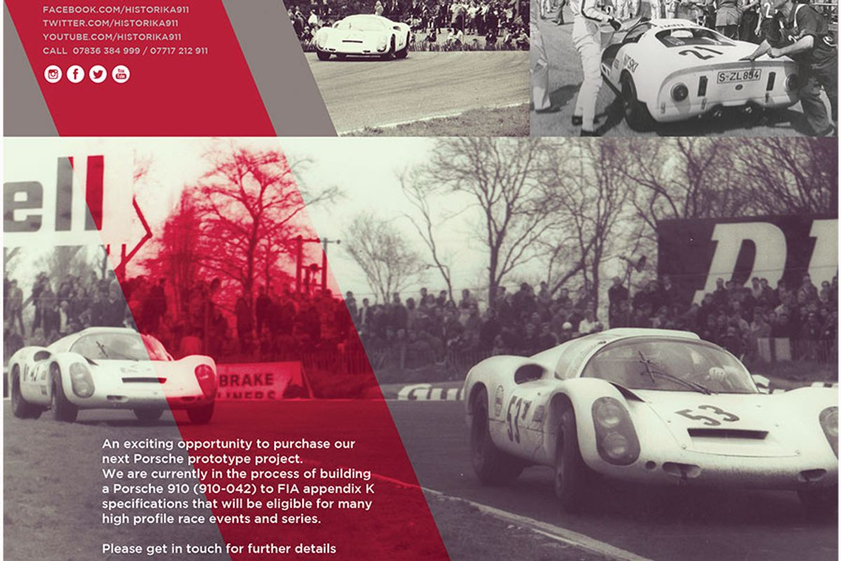Historika Prototypes - Porsche Prototype models restored and re-imagined for historic racing
