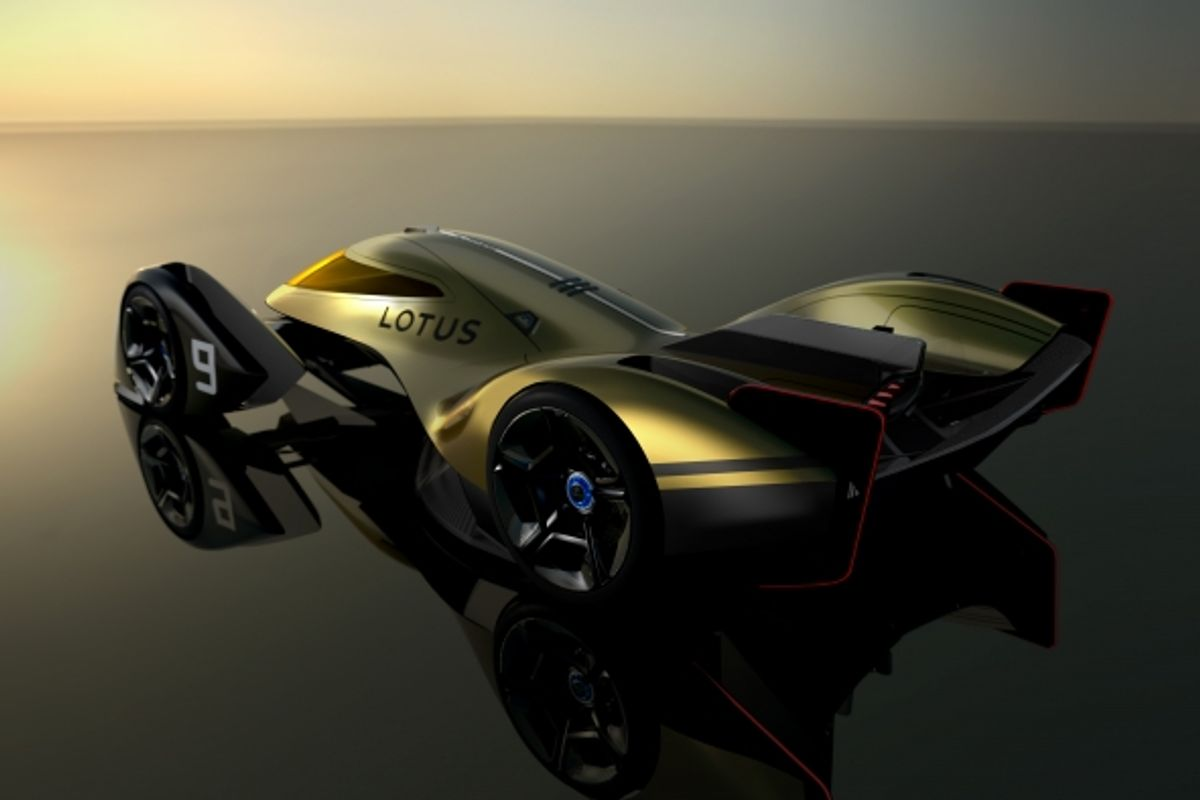 Lotus E-R9: next-generation EV endurance racer