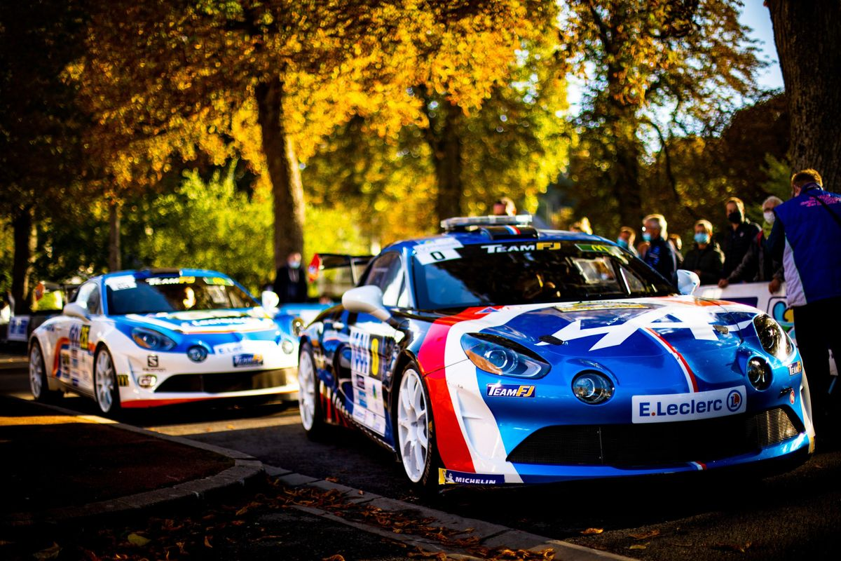 Green light for Alpine Elf Rally Trophy with Rallye Antibes Côte d'Azur