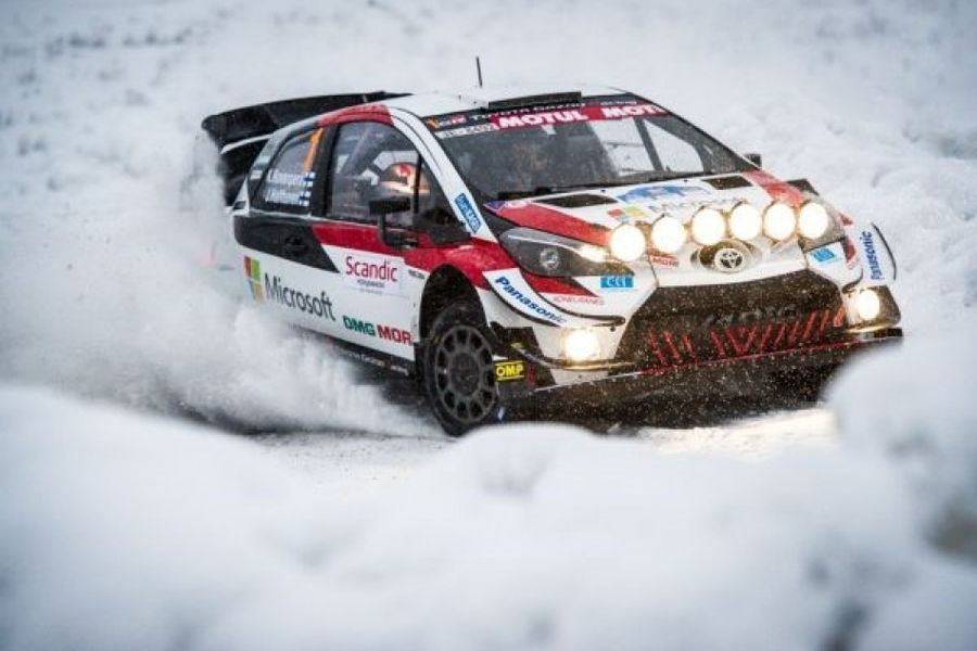 WRC ventures to the far north for Arctic Rally Finland