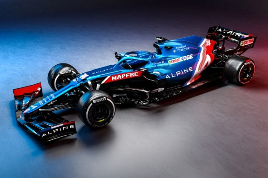 First ever Alpine F1 Team car will make its on track debut today