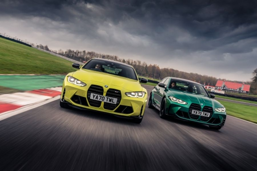 New BMW M3 Competition Saloon and BMW M4 Competition Coupé