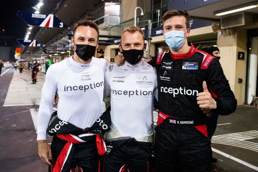 inception racing look forward to 24 Hours of Le Mans debut