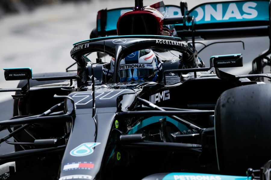 Bottas on top of Bahrain F1 test Day 2