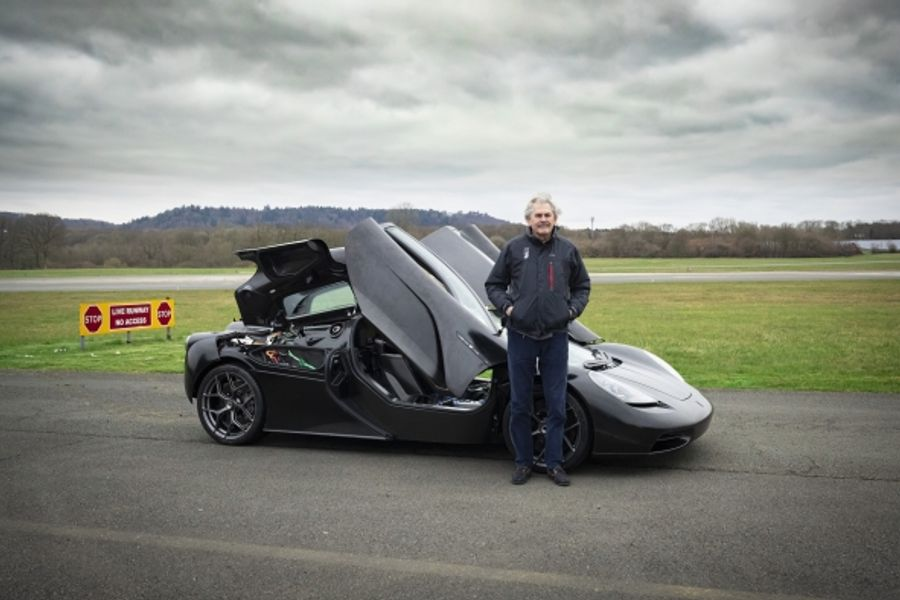 Gordon Murray Automotive's T.50 supercar hits the test track,video