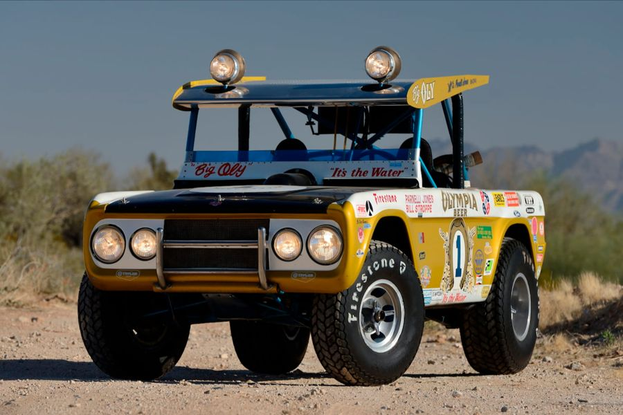 World's Most Recognizable Ford Bronco 'Big Oly' Heads to Mecum Indy
